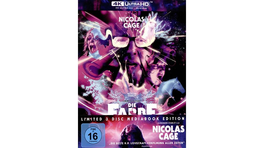 Die Farbe aus dem All Color Out of Space Mediabook B 4K Ultra HD 2 Blu rays