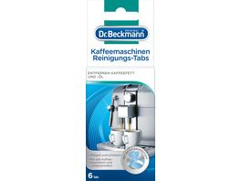 Dr Beckmann Kaffeemaschinen Reinigungs Tabs