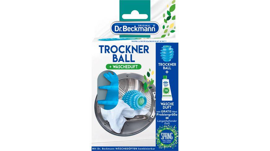 Dr Beckmann Trockner Ball und Waescheduft