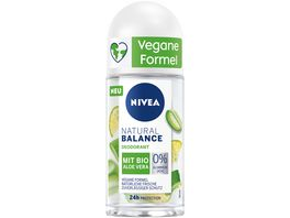 NIVEA Natural Balance Bio Aloe Vera Roll On