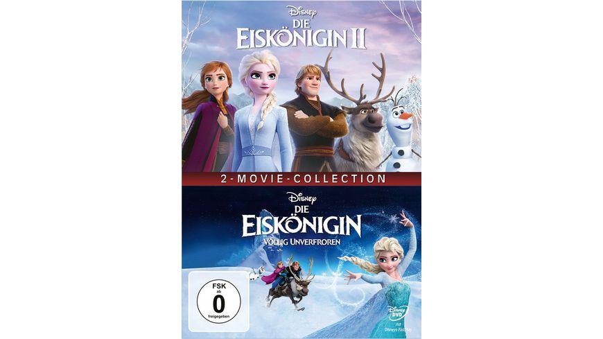 Die Eiskoenigin 1 2 2 DVDs