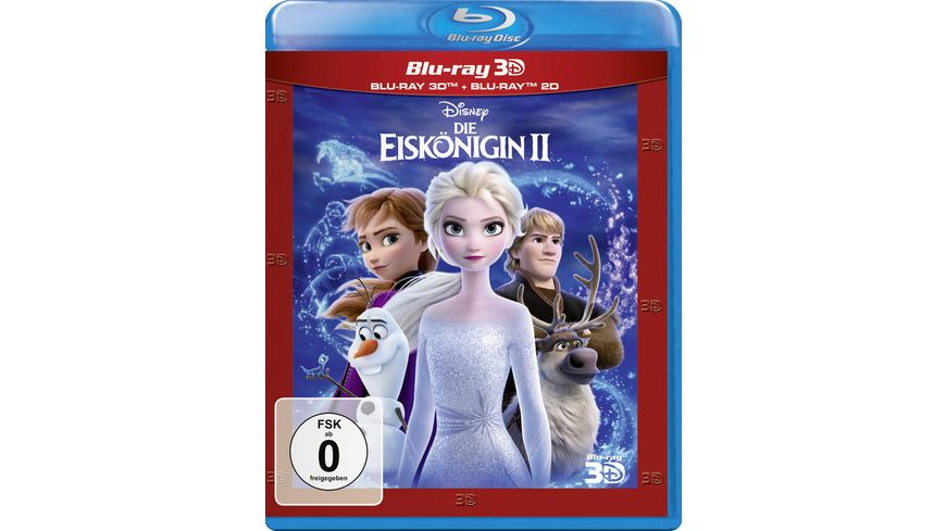 Die Eiskoenigin 2 Blu ray 2D