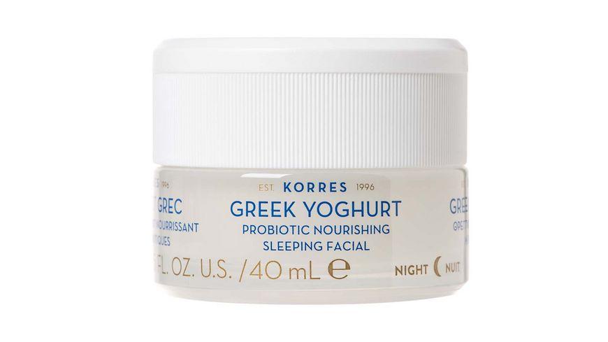 KORRES Greek Yoghurt beruhigende probiotische Nachtcreme