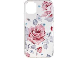 OHLALA Back Cover BIG ROSE fuer Apple iPhone 11