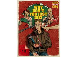 Why Don t You Just Die Mediabook Limited Edition uncut DVD