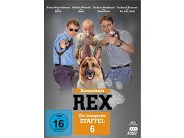 Kommissar Rex Die komplette 6 Staffel 3 DVDs