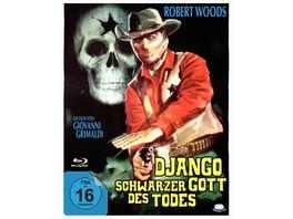 Django Schwarzer Gott des Todes Starblack inkl Schuber