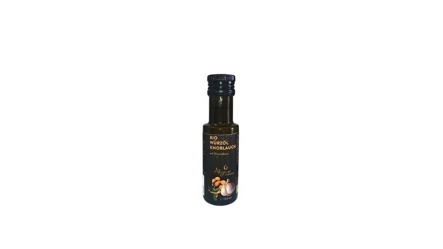 Allgäuer Ölmühle Bio Würzöl Knoblauch