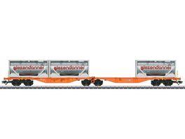 Maerklin 47805 Doppel Containertragwagen Sggrss