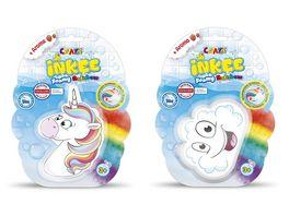 CRAZE Inkee Foamy Rainbow 1 Stueck sortiert