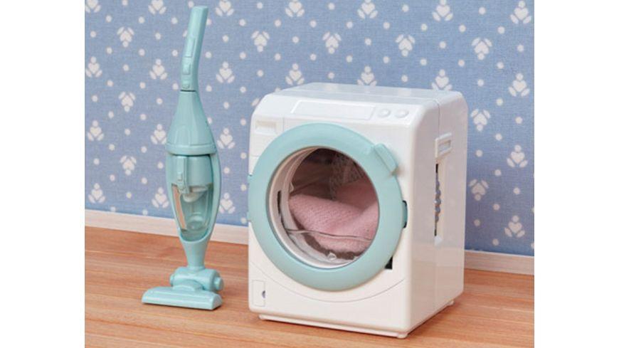 Sylvanian Families Waschmaschine und Staubsauger