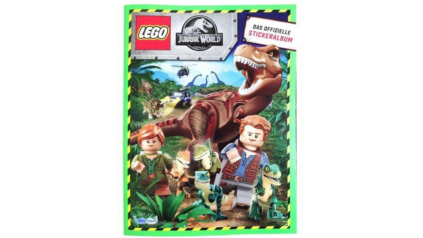 Blue Ocean - LEGO Jurassic World Sammelsticker Album