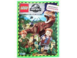 Blue Ocean LEGO Jurassic World Sammelsticker Album