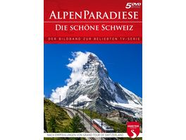 Alpenparadiese Die schoene Schweiz 5 DVDs