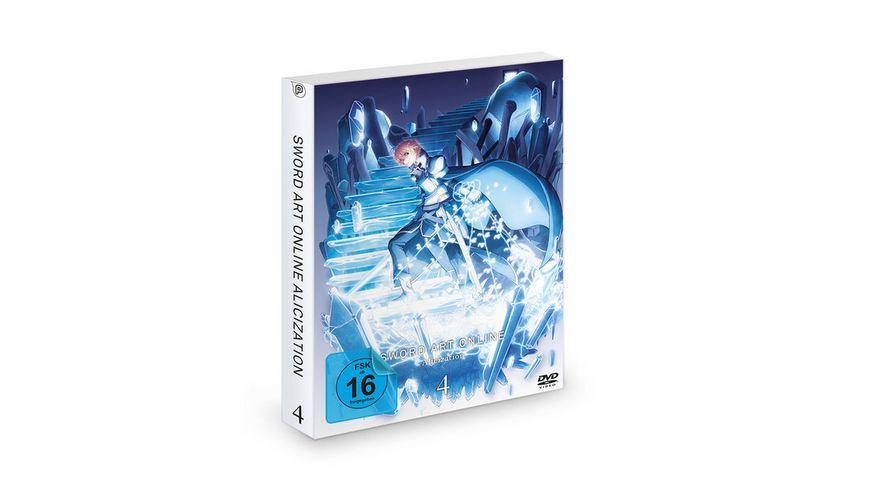 Sword Art Online Alicization 3 Staffel DVD Vol 4 Episode 19 24 2 DVDs