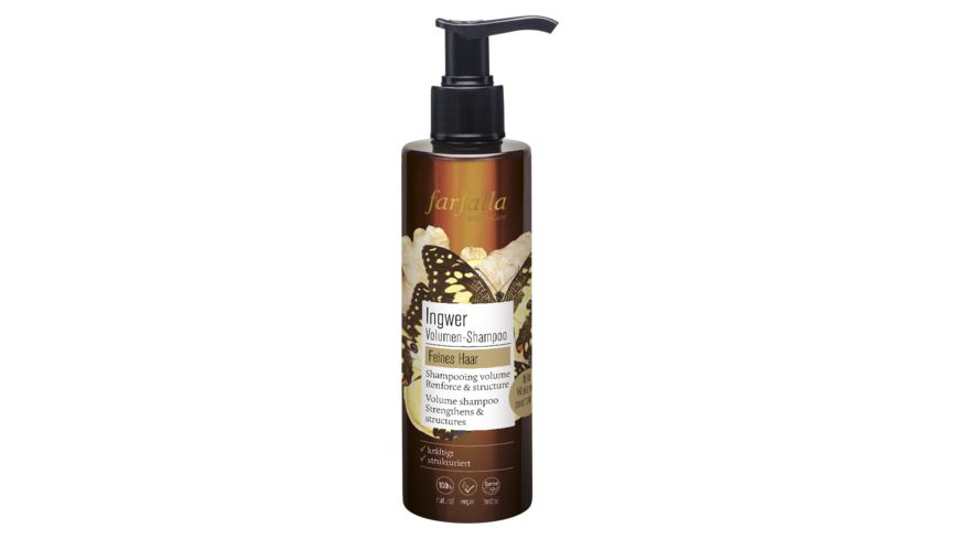 farfalla Ingwer Volumen Shampoo