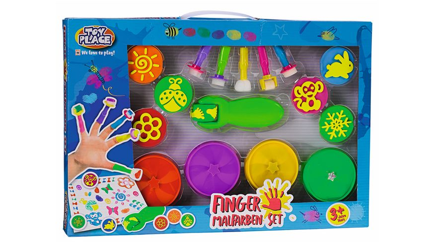 Mueller Toy Place Finger Malfarben Set