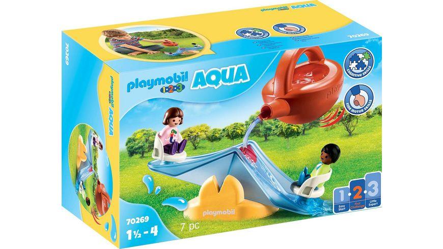 PLAYMOBIL 70269 - 1.2.3 - Aqua  Wasserwippe mit Gießkanne