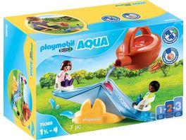 PLAYMOBIL 70269 1 2 3 Aqua Wasserwippe mit Giesskanne