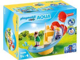 PLAYMOBIL 70270 1 2 3 Aqua Wasserrutsche