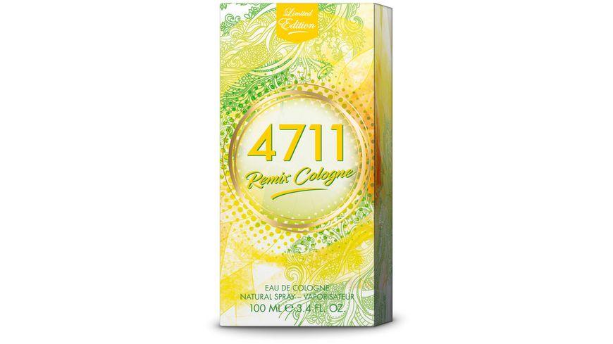 4711 Remix Cologne Zitrone Eau de Cologne Natural Spray