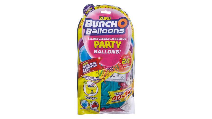 Zuru Bunch O Balloons 24 Selbstverschliessende Latex Party Ballons bunt 1 Stueck sortiert