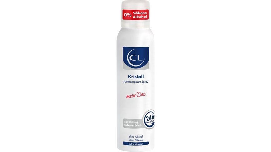 CL Kristall Antitranpirant Spray