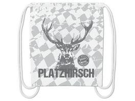 FC BAYERN MUeNCHEN SMU Sportbeutel Platzhirsch