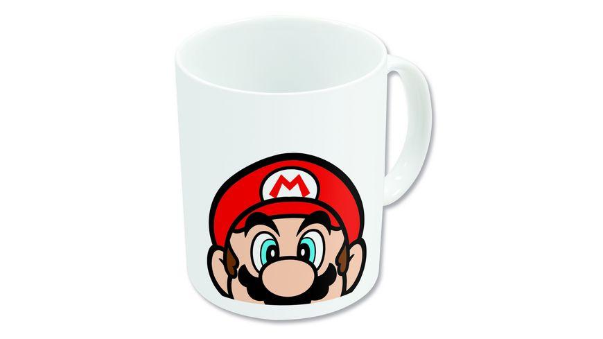 Super Mario Becher weiss (325 ml)