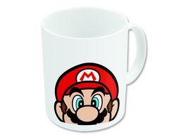 Super Mario Becher weiss 325 ml