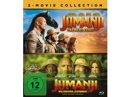 Jumanji Willkommen im Dschungel Jumanji The Next Level 2 BRs