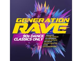 Generation Rave 90s Dance Classics Only