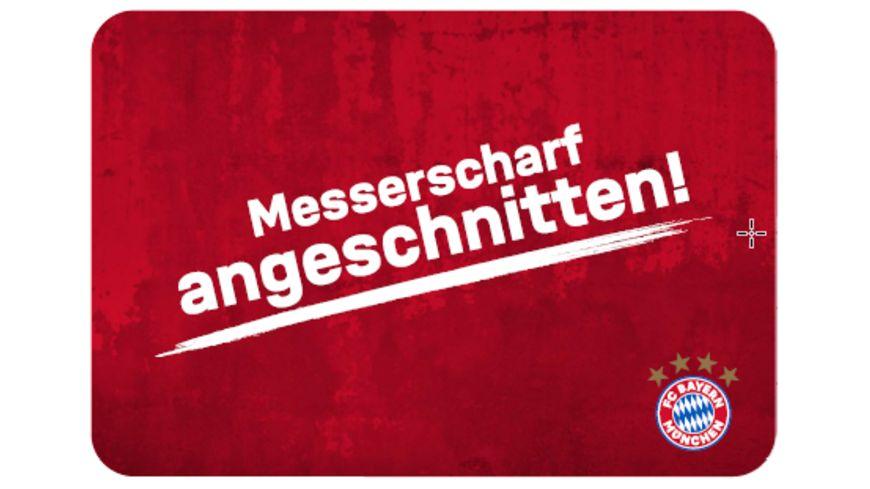 FC BAYERN MÜNCHEN SMU Frühstücksbrettchen messerscharf