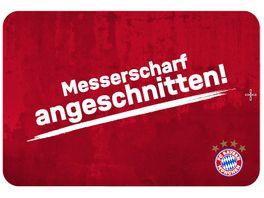 FC BAYERN MUeNCHEN SMU Fruehstuecksbrettchen messerscharf