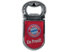 FC BAYERN MUeNCHEN SMU Magnetflaschenoeffner Ein Prosit