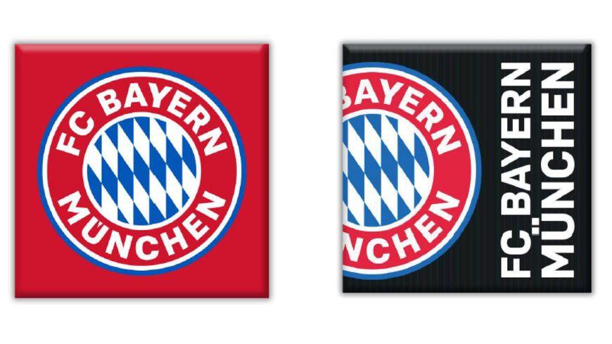 FC BAYERN MÜNCHEN SMU Magnet 2er-Set FC Bayern München