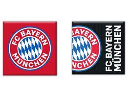 FC BAYERN MUeNCHEN SMU Magnet 2er Set FC Bayern Muenchen