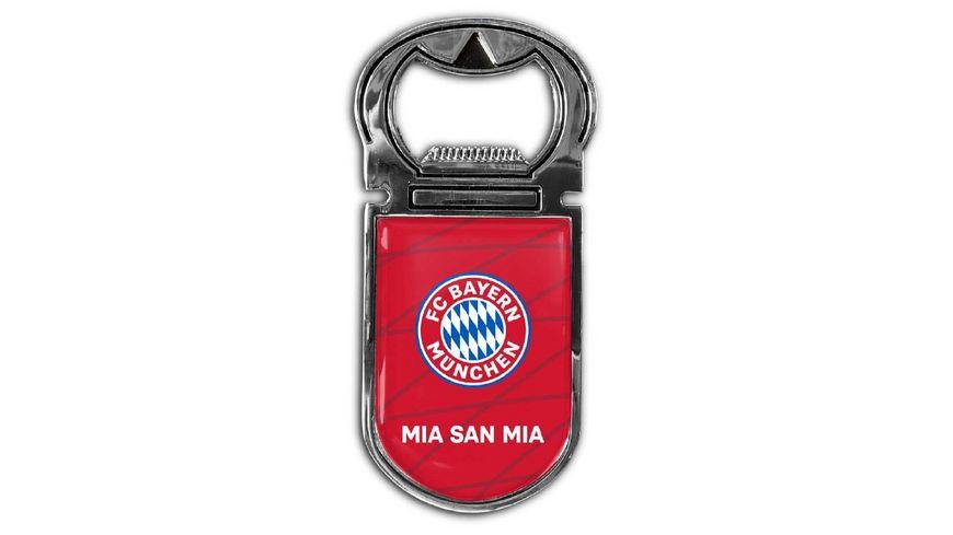 FC BAYERN MÜNCHEN SMU Magnetflaschenöffner Mia san mia
