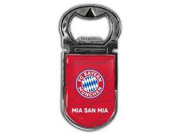 FC BAYERN MUeNCHEN SMU Magnetflaschenoeffner Mia san mia