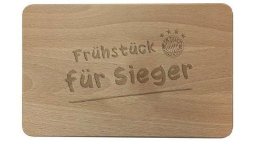 FC BAYERN MÜNCHEN SMU Brotzeitbrett Holz