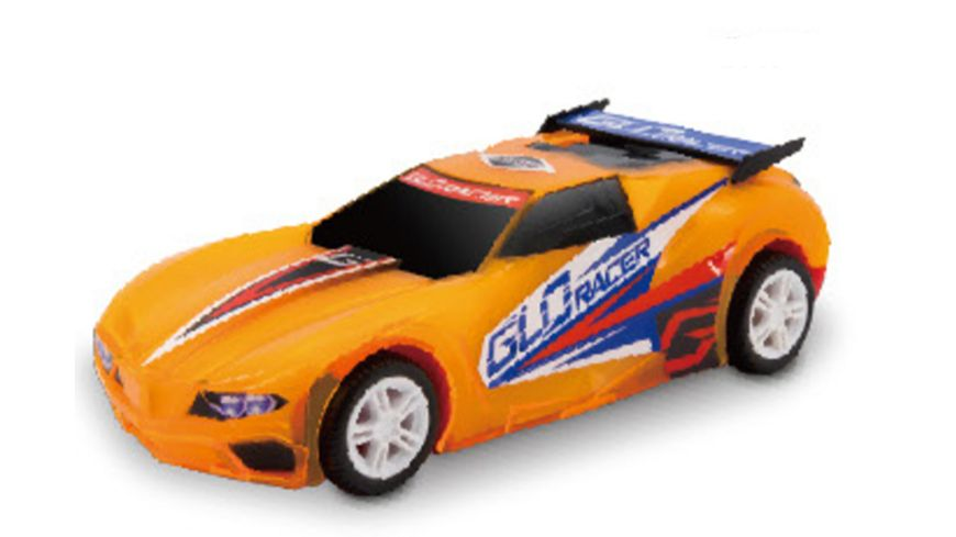 Mueller Toy Place Glo Racer Pull Back 1 Stueck sortiert