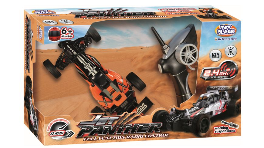 Mueller Toy Place 1 24 RC Jet Panther