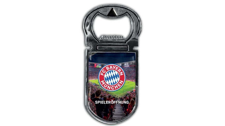 FC BAYERN MÜNCHEN SMU Magnetflaschenöffner Spieleröffnung