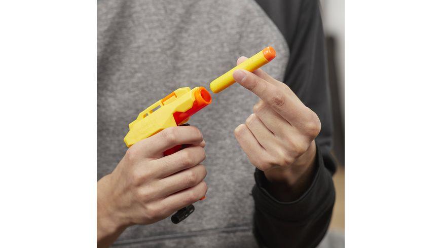 Hasbro Nerf Stinger SD 1 Nerf Alpha Strike Spielzeug Blaster inklusive acht Nerf Elite Darts