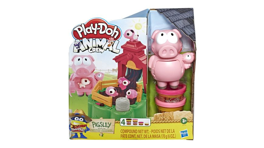 Hasbro Play Doh Animal Crew Pigsley Kleine Schweinchen Spielset