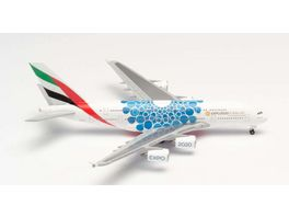 Herpa 533713 Wings Emirates Airbus A380 Expo 2020 Dubai Mobility Livery 1 500