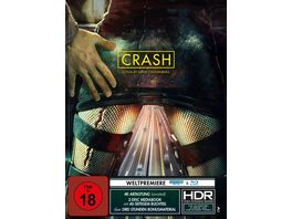 Crash Mediabook Modern 4K Ultra HD Blu ray