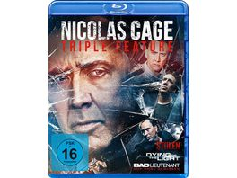 Nicolas Cage Triple Feature 3 BRs