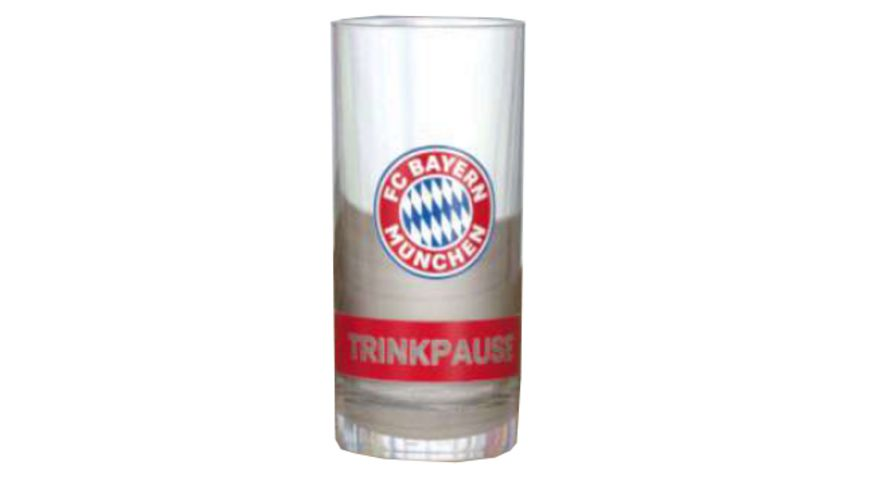 FC BAYERN MÜNCHEN SMU Schnapsglas Trinkpause