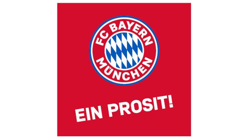 FC BAYERN MÜNCHEN SMU Korkuntersetzer 4er Ein Prosit
